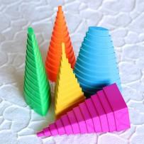 Набор инструментов для создания роллов правильной геометрической формы