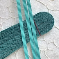 Korean corrugated strips for quilling, Mint(10 pieces)