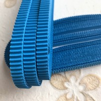 Korean corrugated strips for quilling, Blue (10 pieces)