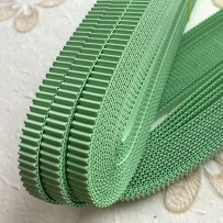 Korean corrugated strips for quilling, LightGreen(10 pieces)