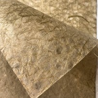 Paper with holes, Hanji, Khaki