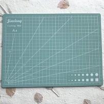 Self-Healing Mat for cutting, format A4, Mint.