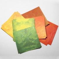 Бумага для цветов и листьев
